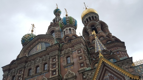 Onion Heads of Savior on the Spilled Blood Cathedral